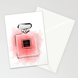 Red perfume #2 Stationery Cards