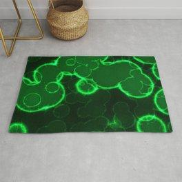 Green glow Rug