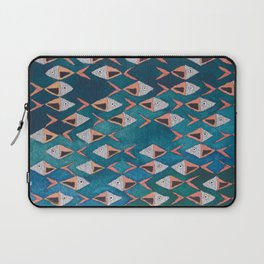 School of Fish Pattern Laptop Sleeve