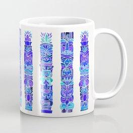 Tiki Totems – Indigo Palette Coffee Mug