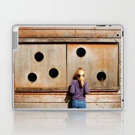 Curious Girl Laptop & iPad Skin