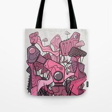 Structural Playground Tote Bag