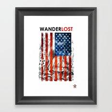WANDERLAND  Framed Art Print