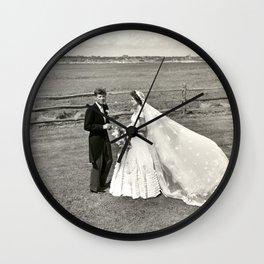 The Kennedys' Wedding Wall Clock
