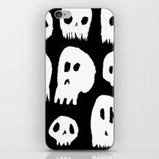 Spooky Skulls iPhone & iPod Skin