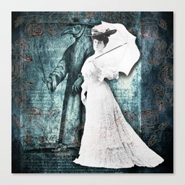 Walking With The Doctor Canvas Print
