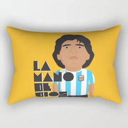La Mano de Dios Rectangular Pillow