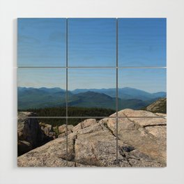 Mount Chocorua Wood Wall Art