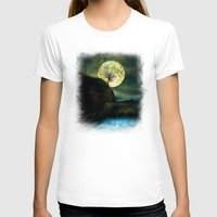 agnes T-shirts featuring The Moon and the Tree. by Viviana Gonzalez
