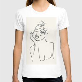 Abstract Minimal Woman I T-shirt