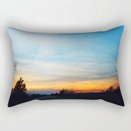 Sky Road Rectangular Pillow