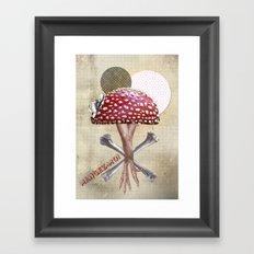 Mangez Moi ! Framed Art Print