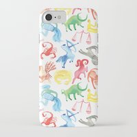 zodiac iPhone & iPod Cases featuring Zodiac by holi