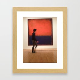 An Artist by Art Framed Art Print