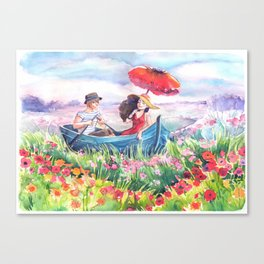Fields of Love Canvas Print