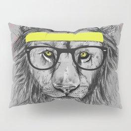 hipster lion Pillow Sham