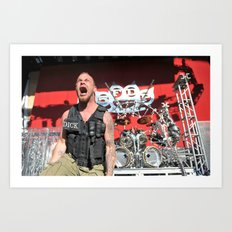 Moody Scream/5FDP Art Print