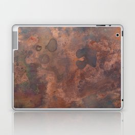 Tarnished, Stained and Scratched Copper Metal Texture Industrial Art Laptop & iPad Skin