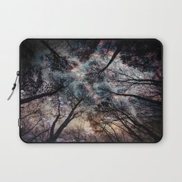 Starry Sky in the Forest Laptop Sleeve