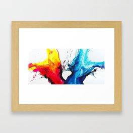 Abstract Art Britto - QB292 Art Print Framed Art Print