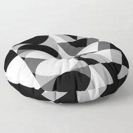 Mira B/W Floor Pillow
