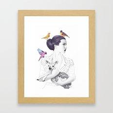 Princess Spike Framed Art Print
