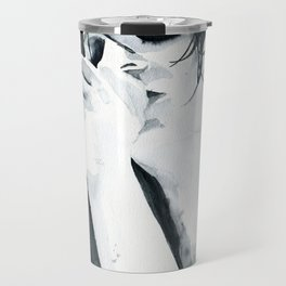 Brian Molko (breathing in) Travel Mug