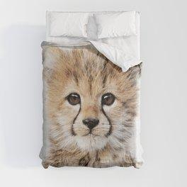 Baby Cheetah - Colorful Comforters