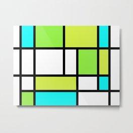 The fake Piet Mondrian Metal Print