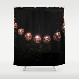 Japanese Branch Lights Shower Curtain