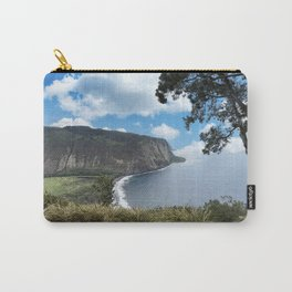 Look out view of Waipio Valley in Hawaii Carry-All Pouch