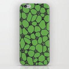 Yzor pattern 006-4 kitai green iPhone & iPod Skin