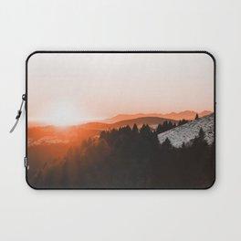 Warm Mountains Laptop Sleeve