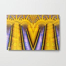 Empress Palms Metal Print