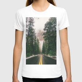 On the Road III / Yellowstone T-shirt