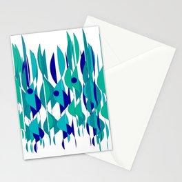 Abstrakt Flames Stationery Cards
