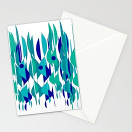 Abstrakt Flames Stationery Cards