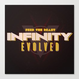 Infinity Evolved Canvas Print