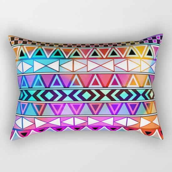 Tribal Pattern 08 Rectangular Pillow