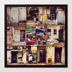 Doors of Hong Kong Canvas Print