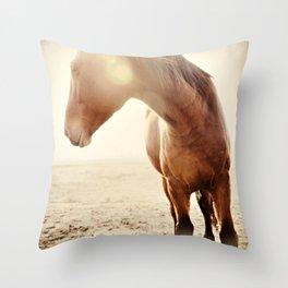 Moose's Mussel Flair Throw Pillow
