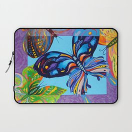 Butteflies are Free to Fly Laptop Sleeve