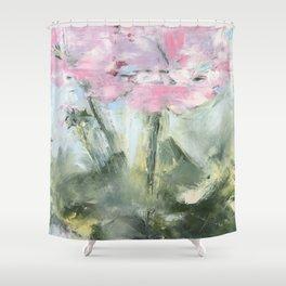 geraniums III Shower Curtain