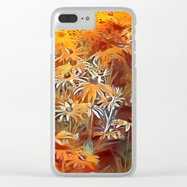 Atomic  Field Clear iPhone Case
