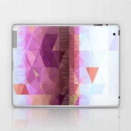 Lavender Purple Abstract Geometric Triangle Polyglen Wallart Illustration Laptop & iPad Skin