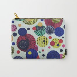 Running around in Circles Carry-All Pouch