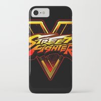 foo fighters iPhone & iPod Cases featuring Street Fighters by Tom Lee