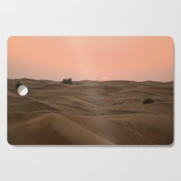 Arabian Desert Sunset Cutting Board