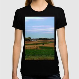 Autumn farm in Wisconsin's driftless region T-shirt