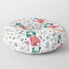 Happy Day Pattern Floor Pillow